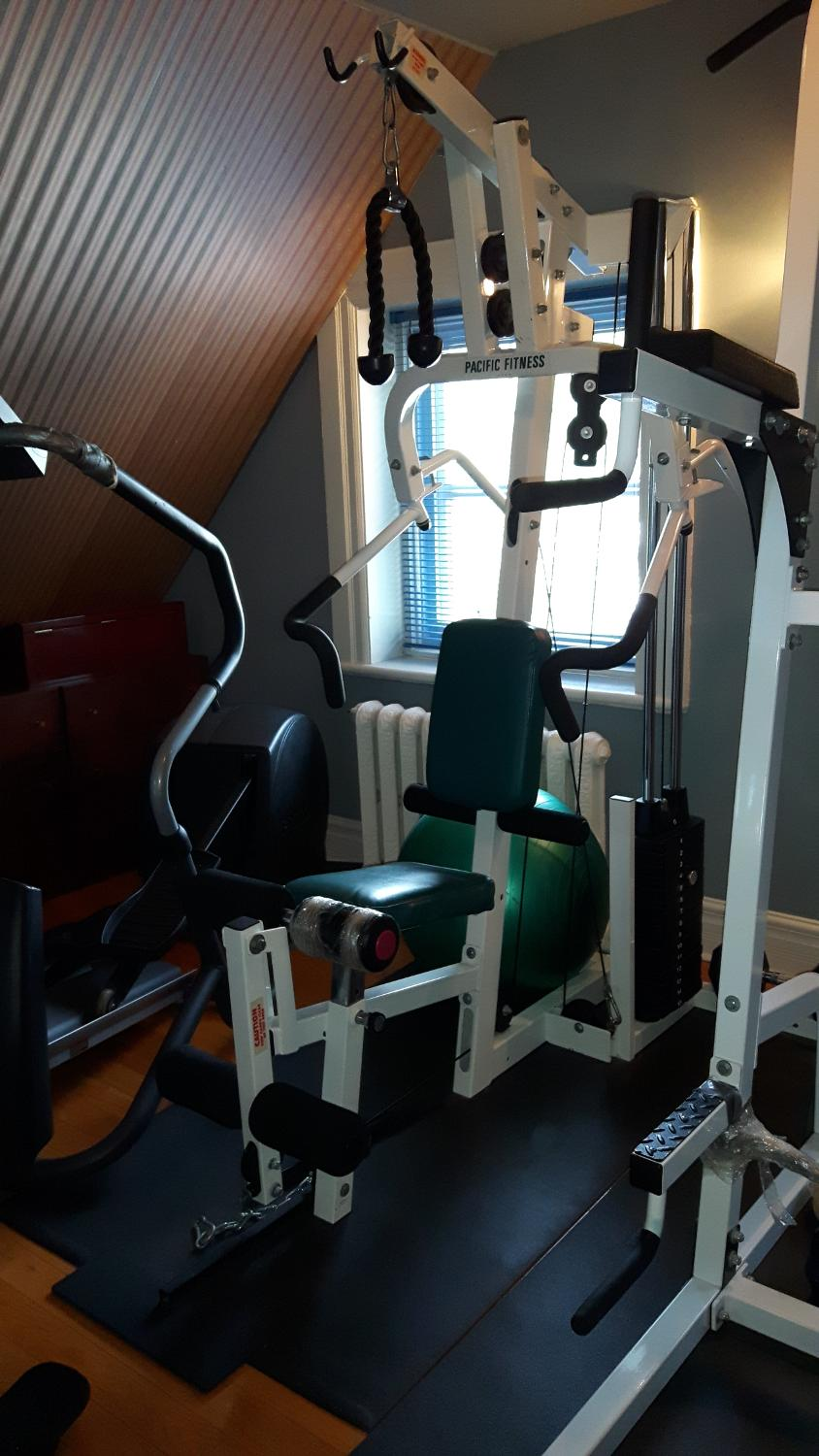 Find more pacific fitness zuma home gym weight station