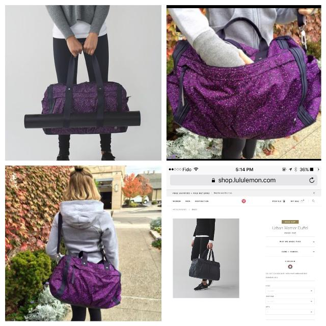 4a683173b27 Find more Brand New With Tag Lululemon Urban Warrior Duffel Bag ...