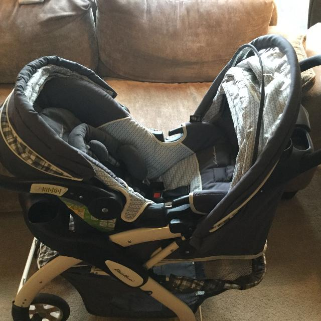 Eddie Bauer Car Seat Stroller Combo With Base