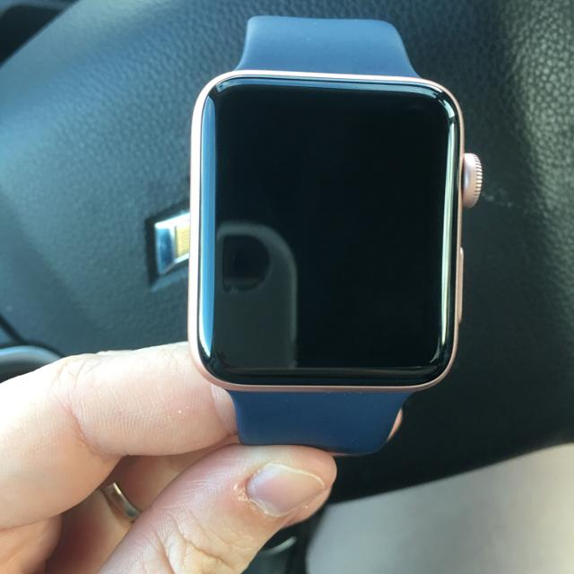 Find More Apple Watch Series 2 42mm Rose Gold With Midnight Blue Band For Sale At Up To 90 Off