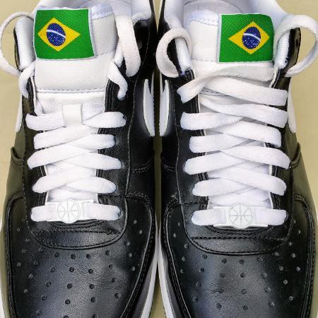 19a6f3e598f1 Brand new men s Nike air force 1 s lows black
