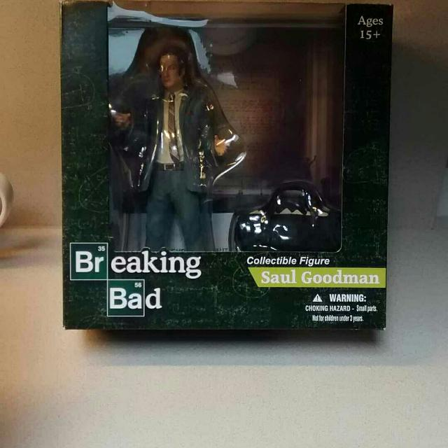 Find more breaking bad action figure saul goodman by mezco toys breaking bad action figure saul goodman by mezco toys not a colourmoves