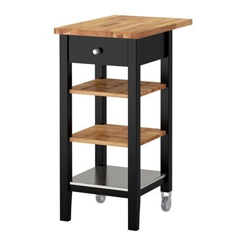Kitchen Counters Montreal: Best Kitchen Cart-oak Counter Top & Shelves For Sale In