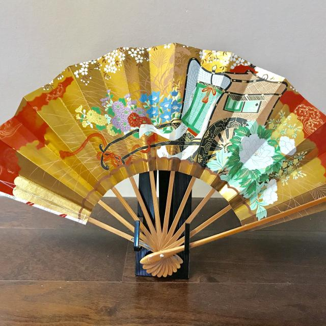 Best Japanese Fan With Display Stand New For Sale In Ladner Beauteous Japanese Fan Display Stand
