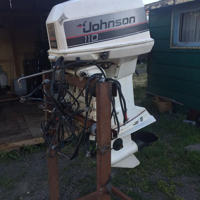 89 Johnson outboard motor 110HP V4