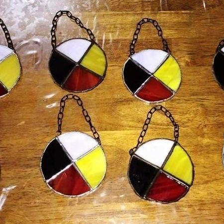 "3"" 4 Directions Medicine Wheel, used for sale  Canada"
