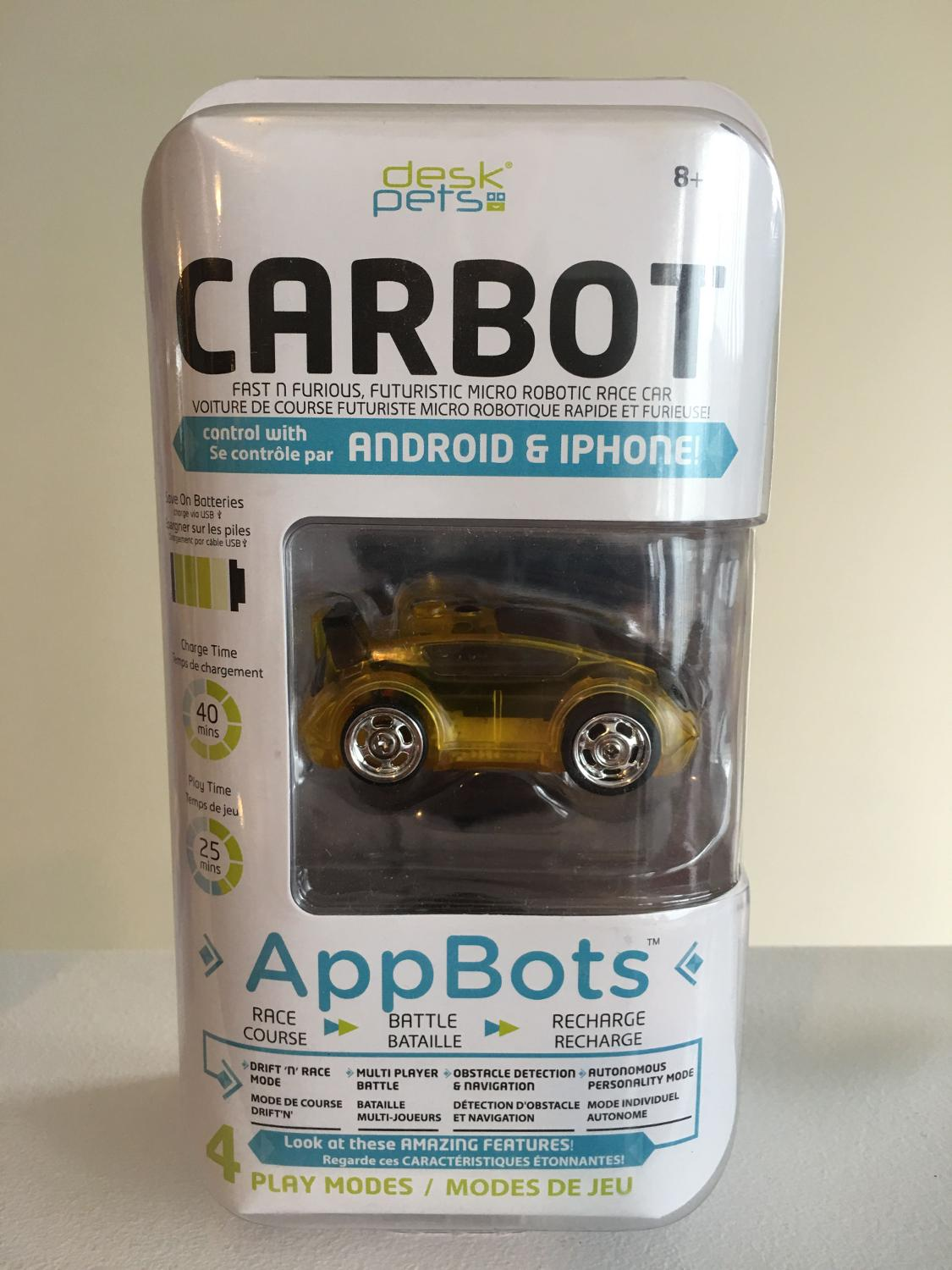 App controlled car for Android and iPhone - Carbot