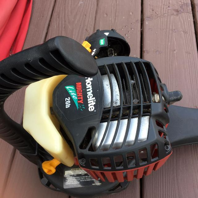 Find More Homelite 26b Leaf Blower Gas Operated Lightweight Blower