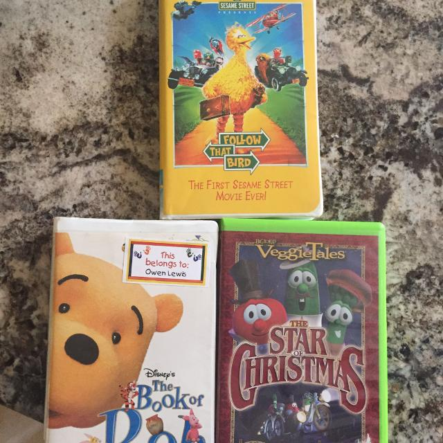 Best Vhs Tapes 3 Each Or All Three For 6 For Sale In Germantown