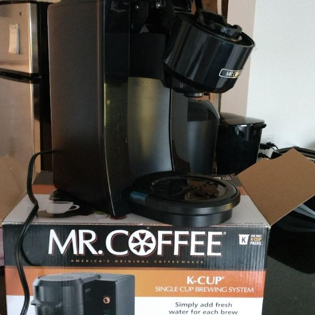 Best Mr Coffee K Cup Brewer New For Sale In West Palm Beach
