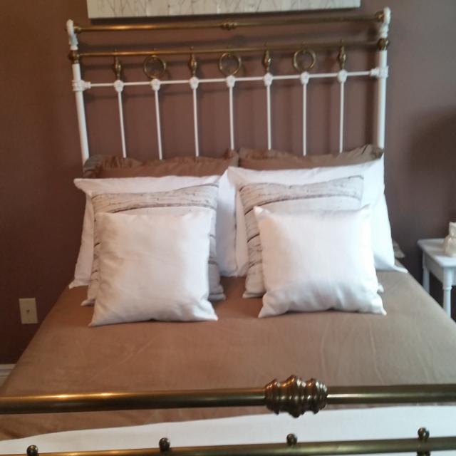 Antique Bed And New Mattress 3 4 Size Ger Than A Single But