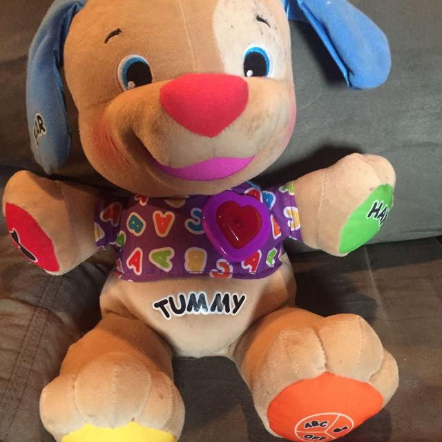 Fisher price laugh learn and love puppy