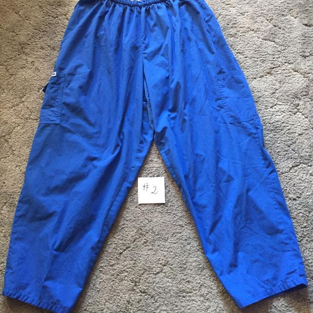 1632c56f53c Find more Blue Mobb Scrub Pants - Plus Size 4x - #2 - Price Drop for ...