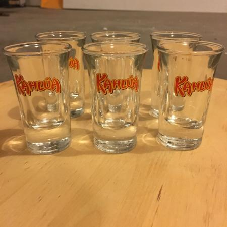 6 Kahlua Shot Glasses for sale  Canada