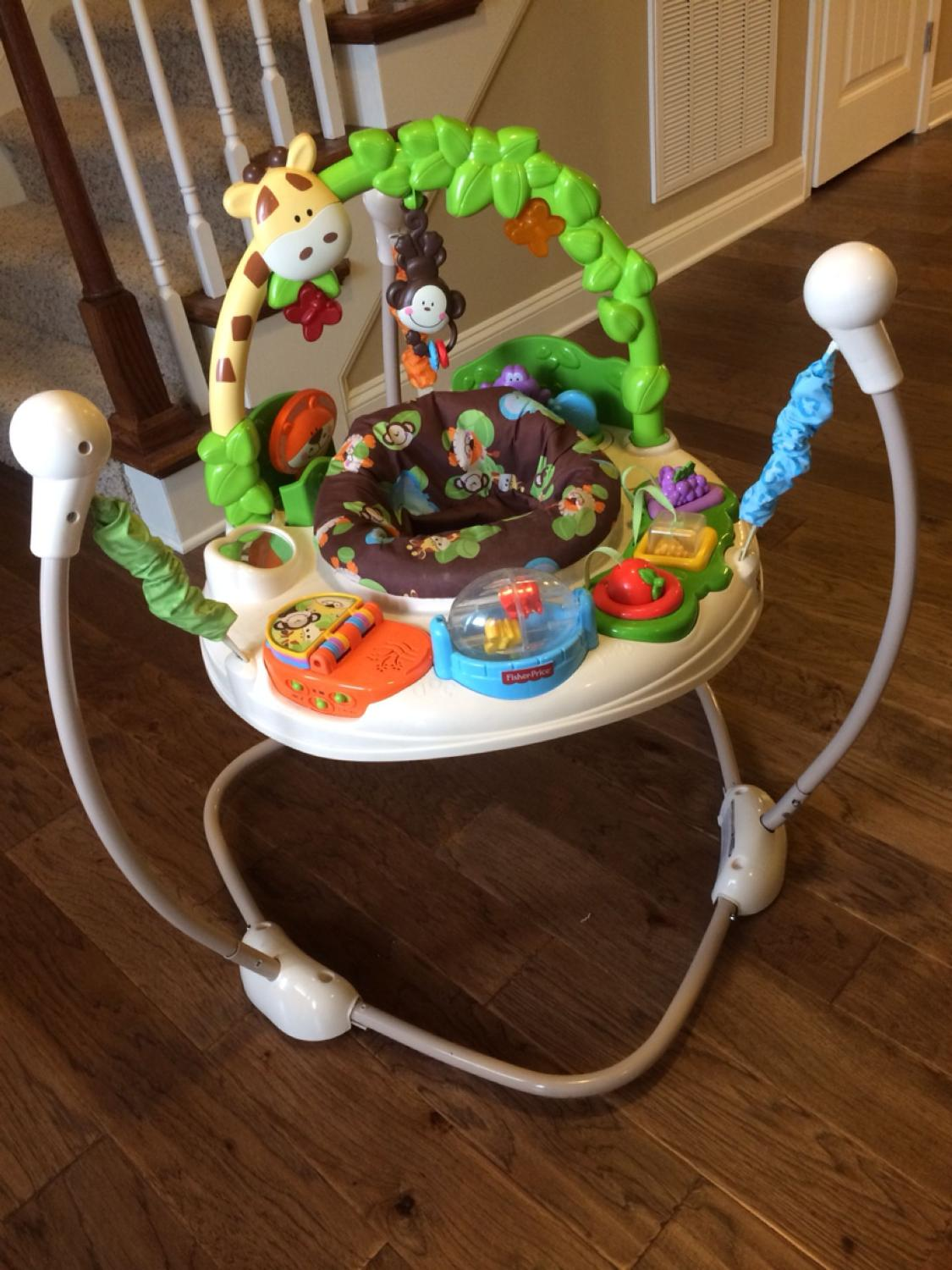 1e40669f3096 Best Fisher-price Go Wild Jumperoo for sale in Fort Bragg