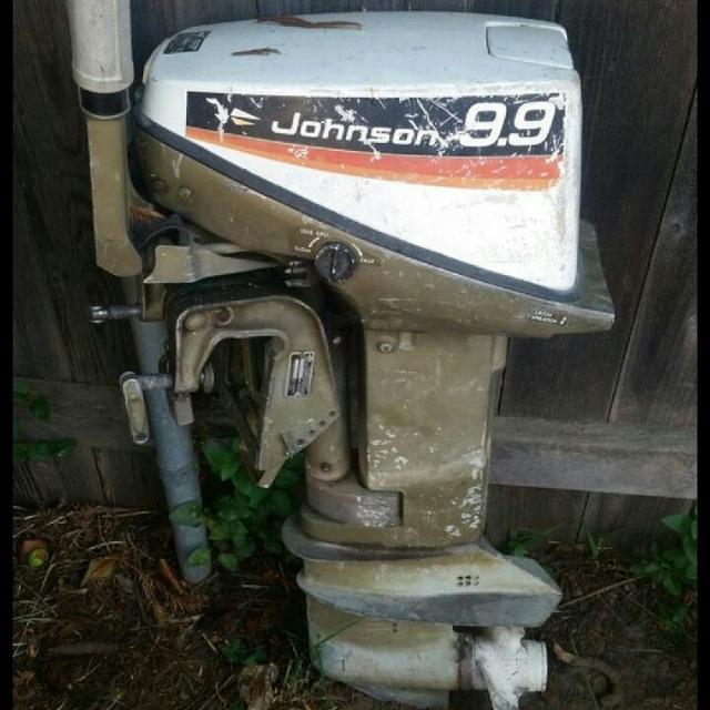 Johnson 9 9 hp Outboard Motor