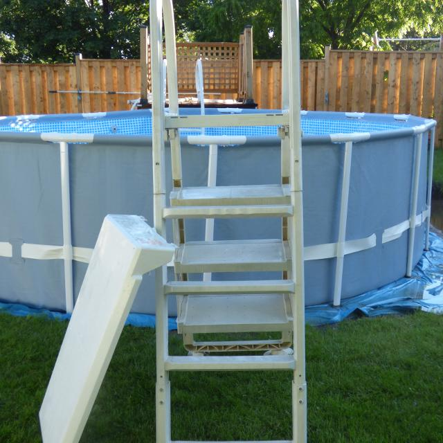 Best A Frame Above Ground Pool Ladder for sale in Oshawa, Ontario ...