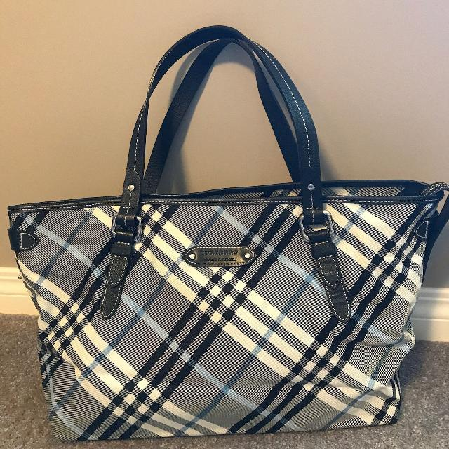 0e55b406416 Find more Authentic Burberry Blue Label Tote Bag/purse (from Japan ...