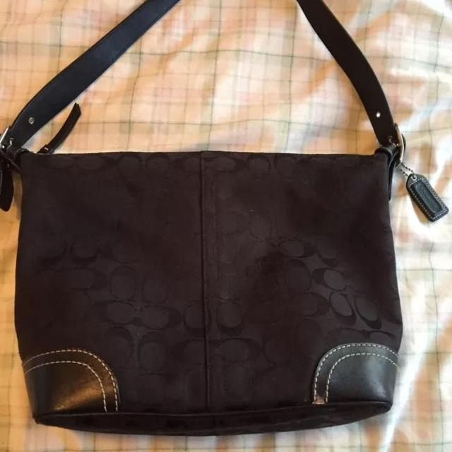 f2fc8d52e505 Best Coach Signature Hobo Bag Black C0732-f10906 for sale in Airdrie ...