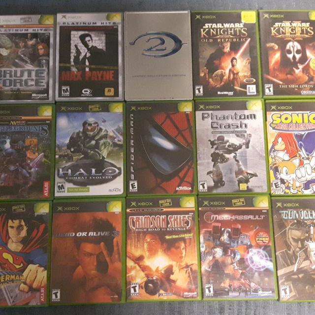 Original Old Xbox Games : Best original xbox games for sale in yorkville ontario