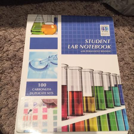 Used, Used Self duplicating lab notebook for sale  Canada