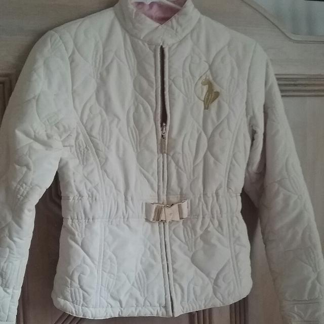 e218ffbc4 Find more Baby Phat Cream Fall/winter Jacket-- Like New! for sale at ...