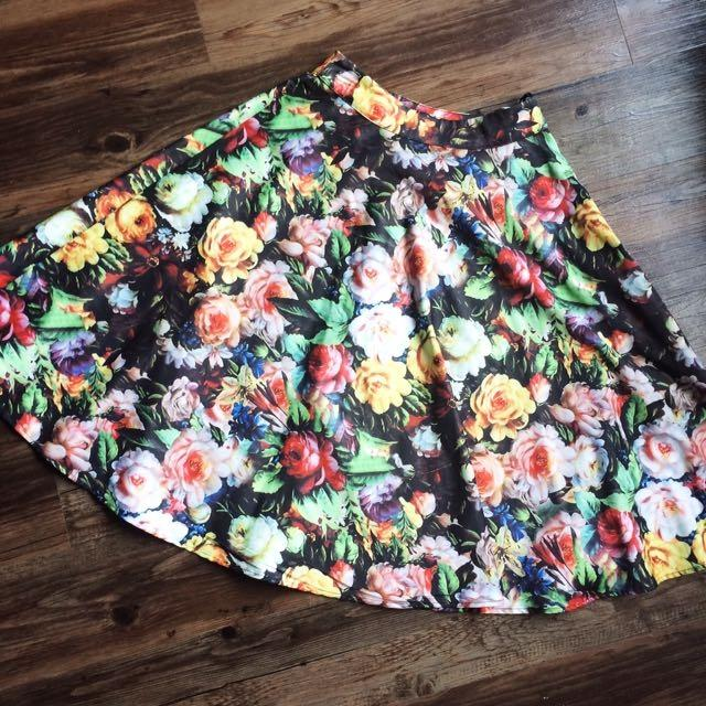 63e29b36bb Best Modcloth (chi Chi London) Floral Skirt for sale in Winnipeg, Manitoba  for 2019