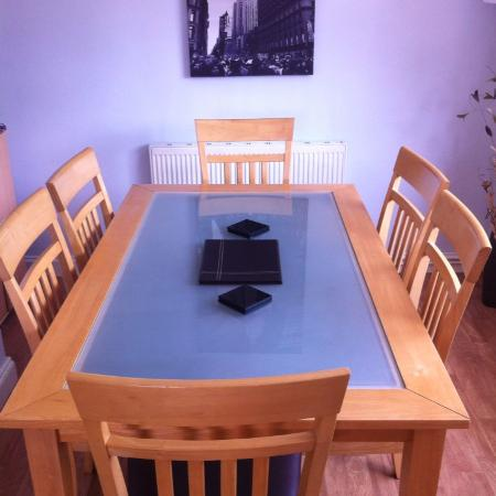 Table n six chairs warsop £50ono for sale  Canada