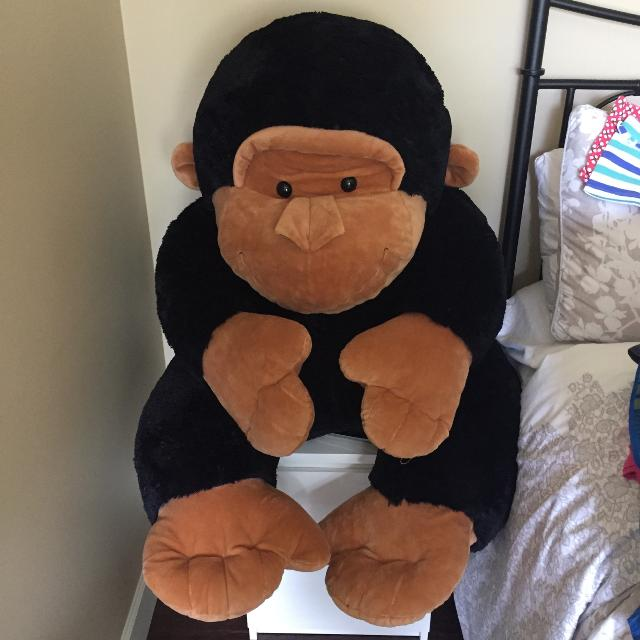 Find More Large Gorilla Stuffed Animal Euc For Sale At Up To 90 Off