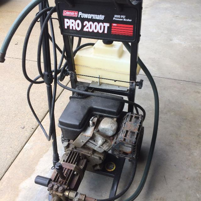 Coleman Powermate 2000 PSI Pressure Washer Pro