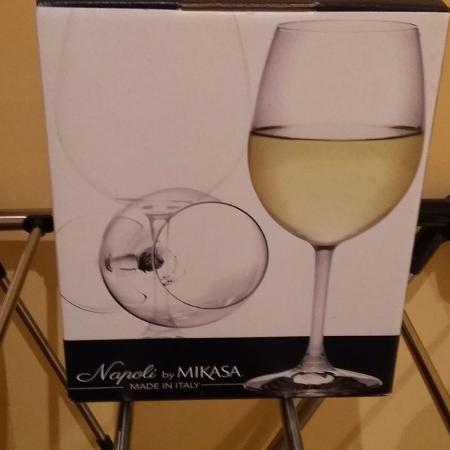 Used, Napoli wine glasses for sale  Canada
