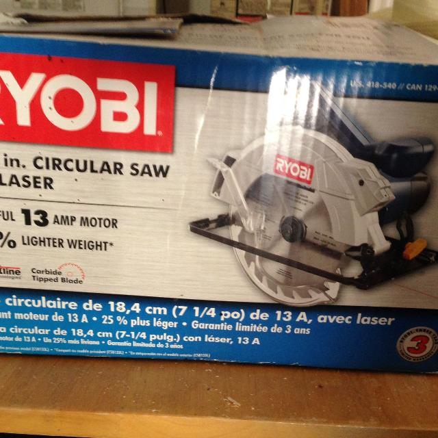 Find more ryobi circular saw brand new for sale at up to 90 off ryobi circular saw brand new greentooth Gallery