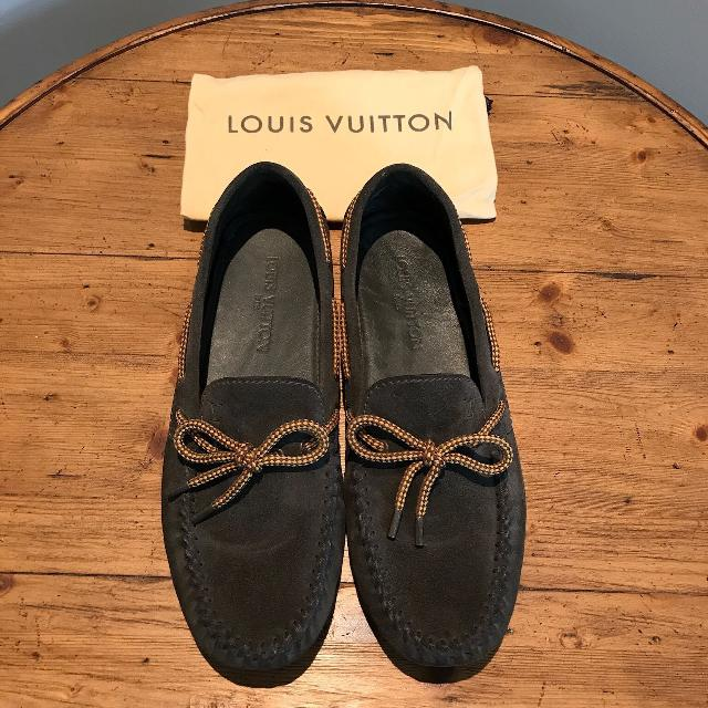 b6fb0d5b38d4 Best Men s Louis Vuitton Forest Green Loafer Shoes for sale in Markham