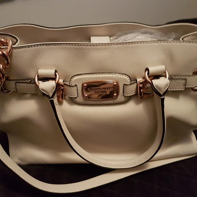 5a64813d666b6e Best Brand New Michael Kors White Leather Hamilton Purse ***never Used***  for sale in Mississauga, Ontario for 2019