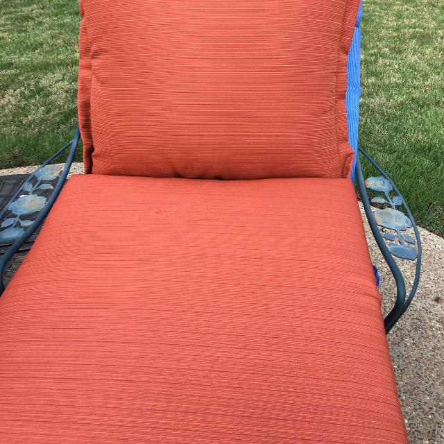 Find More Patio Furniture Cushions 2 Sets Rust Color From Target