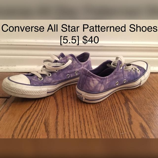 Best Converse All Star Patterned Sneakers for sale in Yorkville ... cb9f8a4812f10