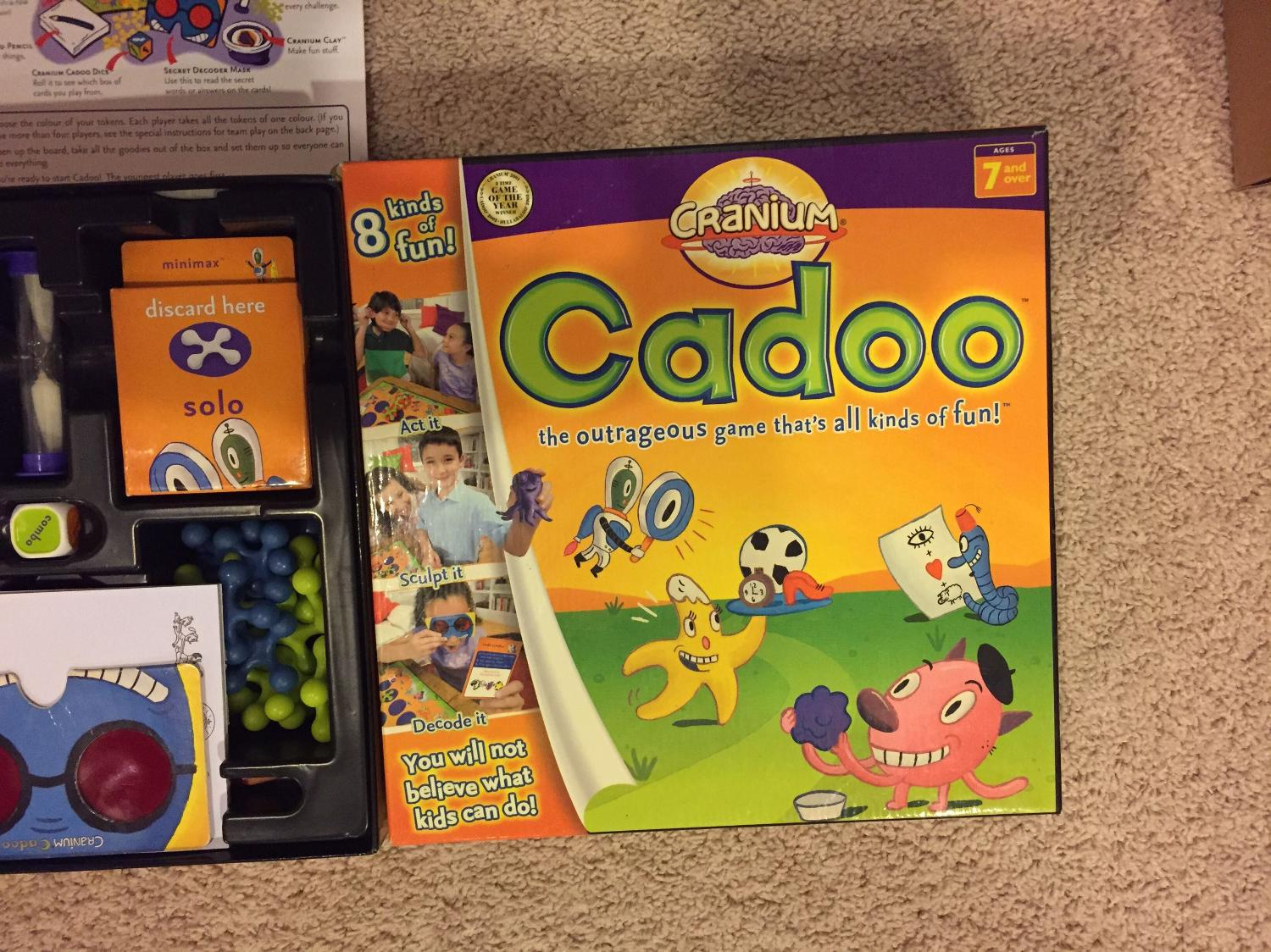 Find More Cadoo Great Game By Cranium For Kids Family Classrooms