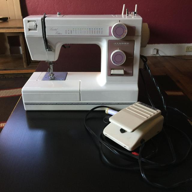 Find More Janome Sewing Machine Model 40 Limited Edition For Sale New Janome Sewing Machine Sale