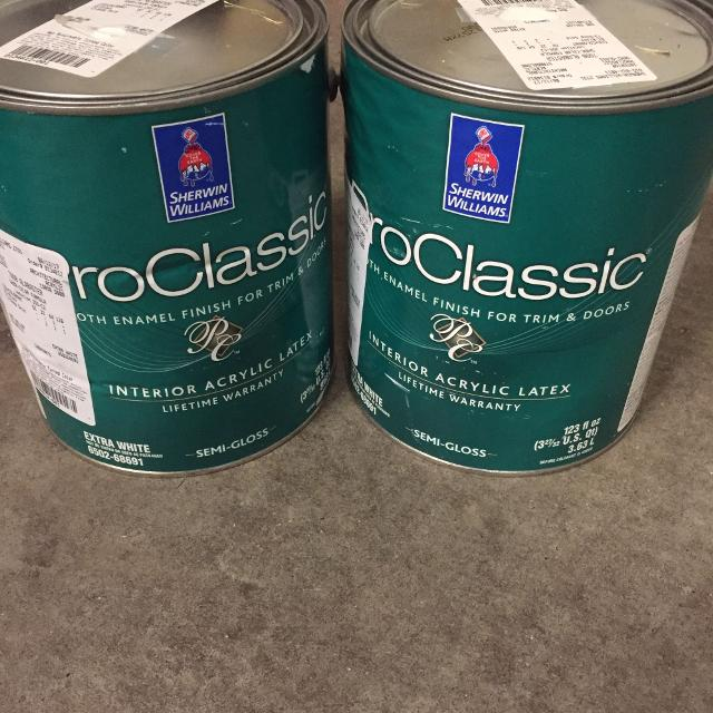 Sherwin Williams Paint Brand New