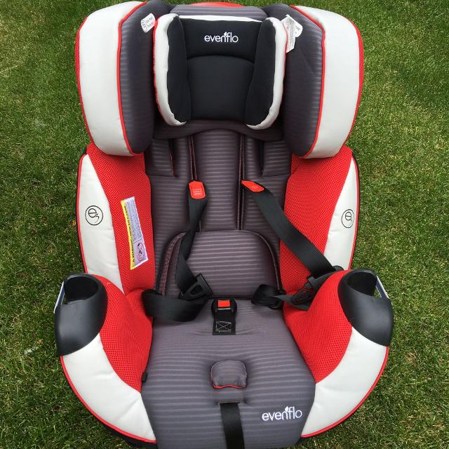 Evenflo Symphony Dlx All In One Convertible Car Seat