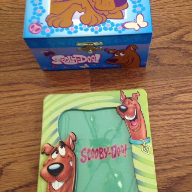 Best Scooby Doo Jewelry Box And Picture Frame For Sale In