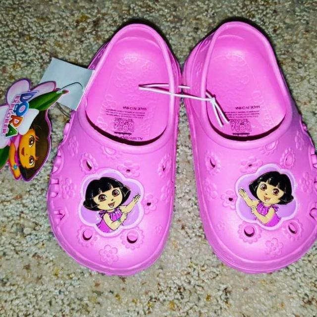 b18bf01531 Best New Dora Crocs. Size 5-6. for sale in Champaign, Illinois for 2019