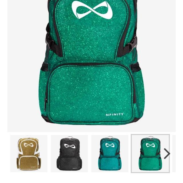 Green Nfinity Cheer Bag