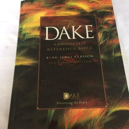 Used, The dake annotated reference bible for sale  Canada