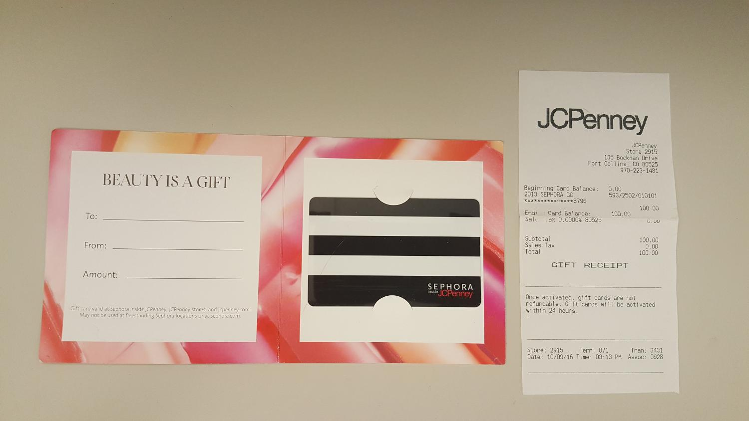 Find More 100 Sephora Gift Card For Sale At Up To 90 Off