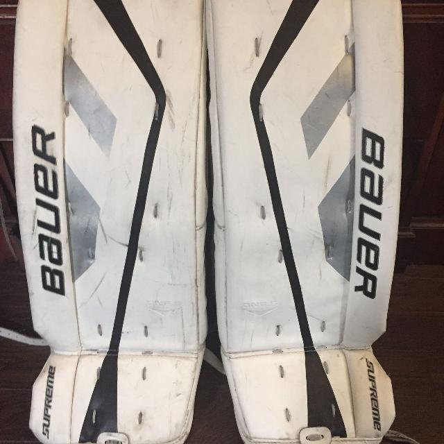 Bauer Supreme one 5 goalie pads 26+1