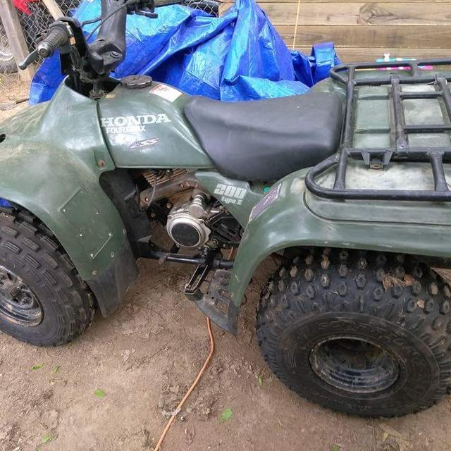 Honda Trx 200: Find More 1995 Honda Fourtrax 200 Type 2 For Sale At Up To