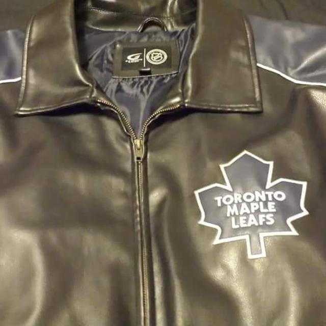 Find More Euc Men S Xxl Toronto Maple Leafs Leather Jacjet For Sale At Up To 90 Off
