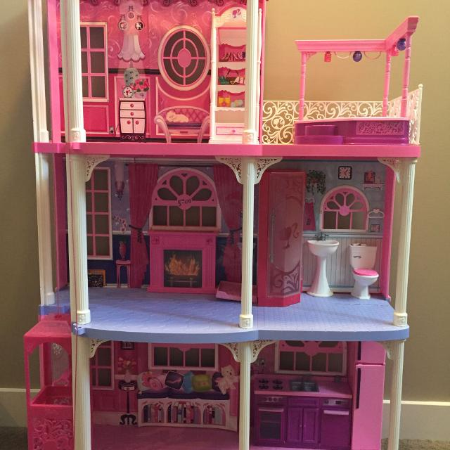 Find More Barbie Dream House, Barbie College Dorm Room And