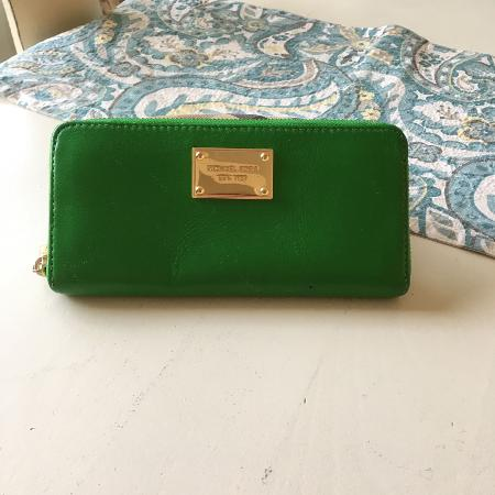 Michael kors green wallet. Paid 198&... for sale  Canada